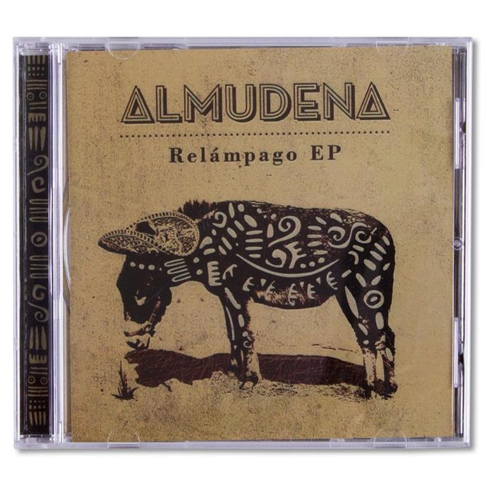 © Luca Bogoni - Almudena – Album cover